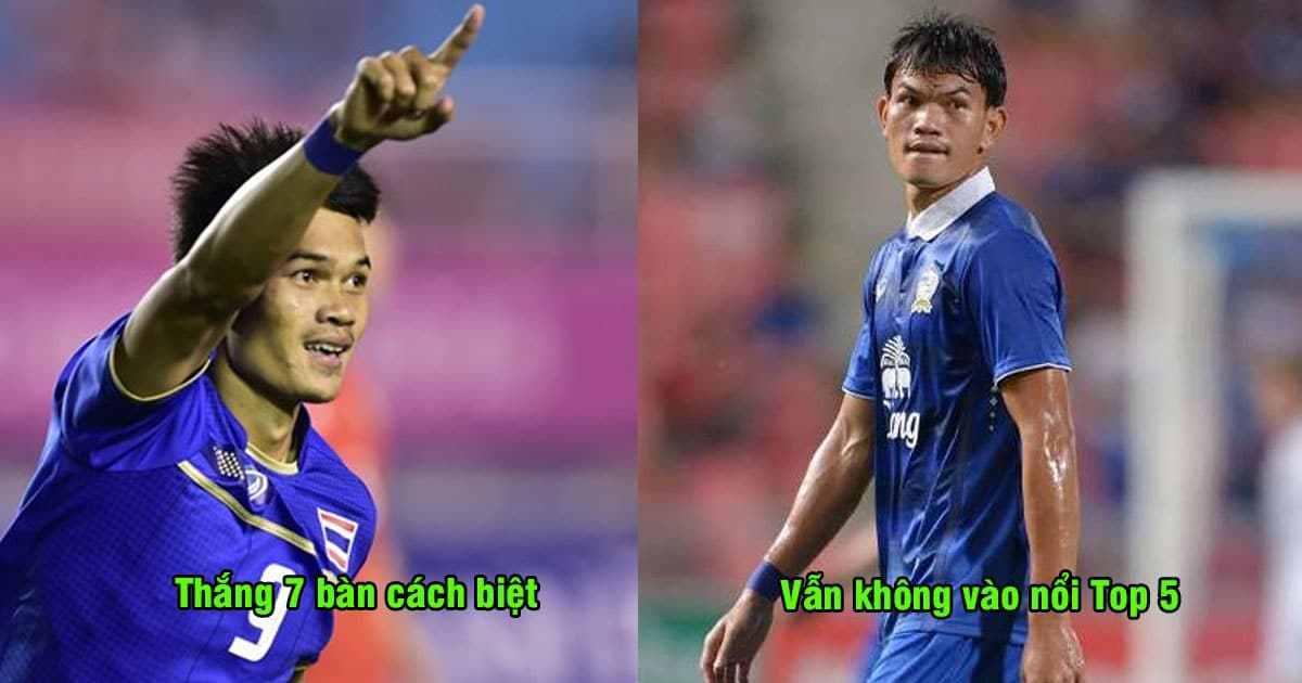 Top 5 trận đấu có tỉ số cách biệt nhất lịch sử AFF Cup: Chiến thắng mới đây của Thái Lan chưa là gì so với Việt Nam
