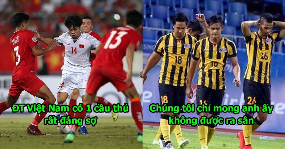 Hàng thủ Malaysia chỉ cần nhìn thấy anh đã khiếp sợ, thầy Park không thể để anh dự bị được