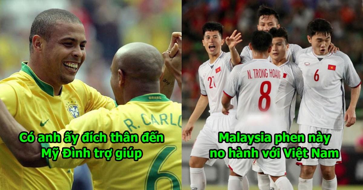 Huyền thoại Brazil đến Việt Nam, đích thân tới Mỹ Đình giúp sức thầy trò Park Hang Seo hạ gục Malaysia