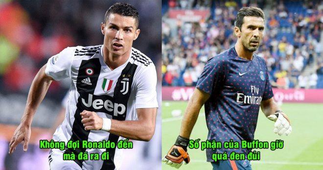 Rời bỏ Juventus dù biết Ronaldo sẽ đến, số phận của Buffon ở PSG giờ đen tối thế này đây