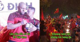 Roberto Carlos choáng ngợp trước sự cuồng nhiệt của CĐV Việt Nam và tin rằng VN sẽ Vô Địch AFF CUP