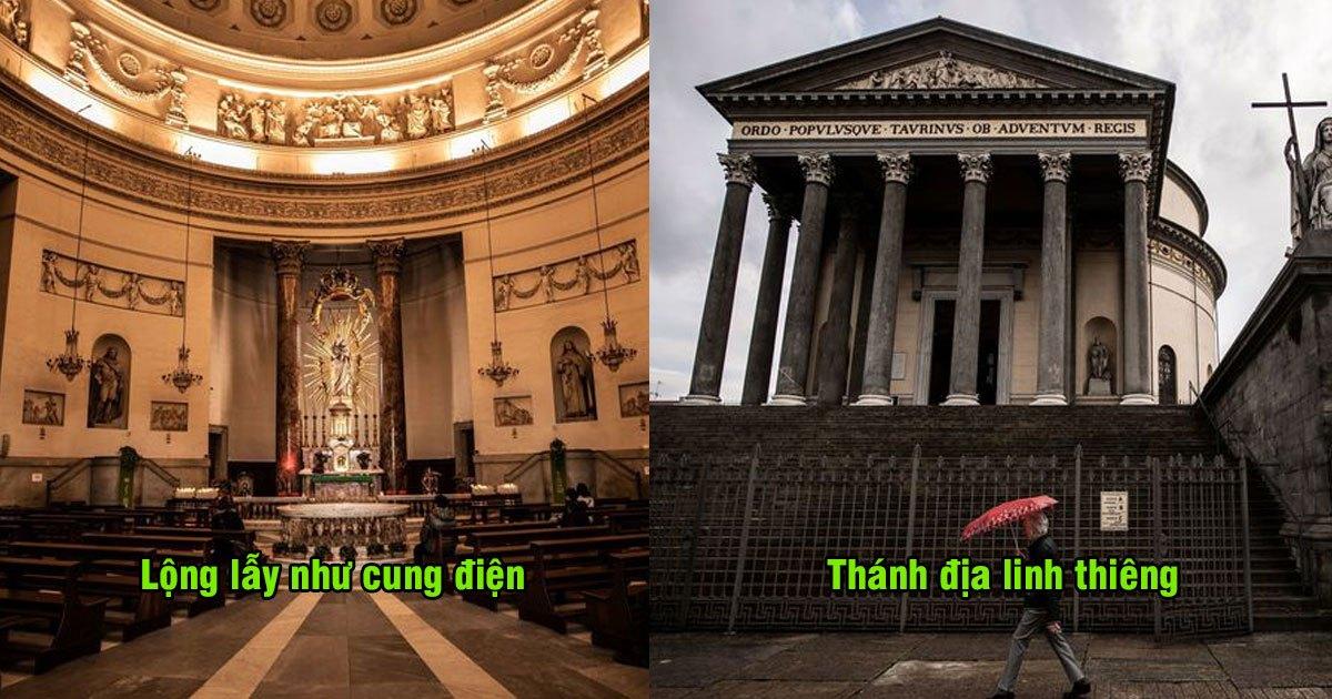 """Cận cảnh nhà thờ được Ronaldo chọn làm nơi tổ chức lễ cưới, nhà """"anh"""" không có gì ngoài điều kiện"""