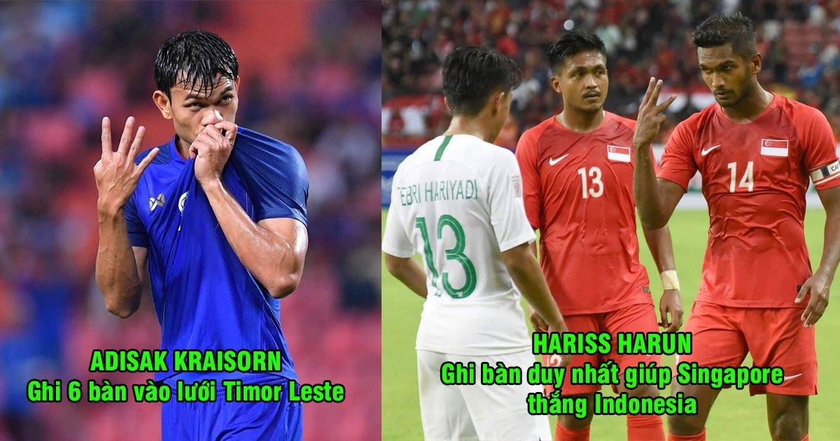 Điểm mặt 8 cầu thủ đầu tiên được trang chủ AFF Cup vinh danh: Tự hào với 1 cái tên Việt Nam