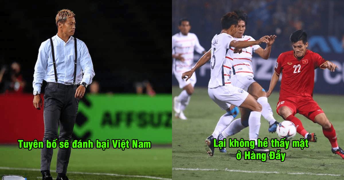 """""""Campuchia thua thảm trước Việt Nam vì trò hề của Keisuke Honda"""""""