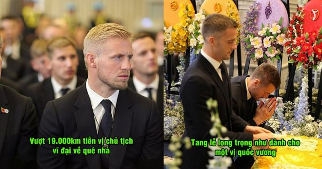 CHÙM ẢNH: Dàn sao Leicester sang Thái Lan tiễn vị cố chủ tịch về nơi an nghỉ cuối cùng, ta.ng lễ long trọng như dành cho một vị vua