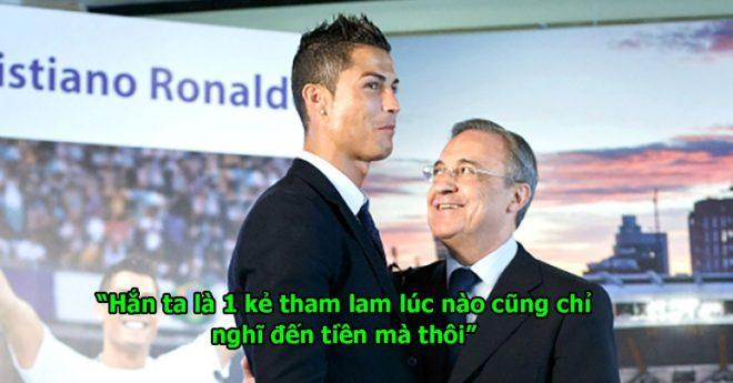 """Báo thân Real đưa tin: """"Ronaldo thiếu nhân cách, hèn nhát, tham lam. Tư cách gì quay ngược chỉ trích Perez"""""""