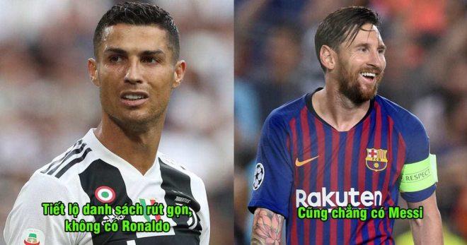 Cập nhật cuộc đua khốc liệt của QBV Châu Âu 2018: Bất ngờ cả Ronaldo và Messi đều bị đánh bật