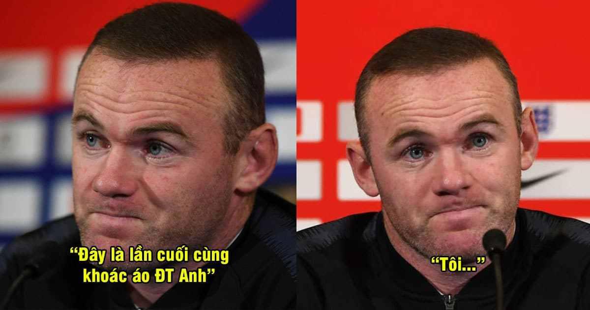 Lần cuối cùng được khoác áo ĐT Anh, Rooney đã có những chia sẻ làm hàng triệu fan M.U rơi lệ