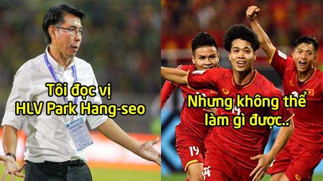 """HLV Malaysia: """"Tôi đọc vị HLV Park Hang-seo nhưng vẫn bị Việt Nam trừng phạt, cầu thủ của họ quá giỏi"""""""