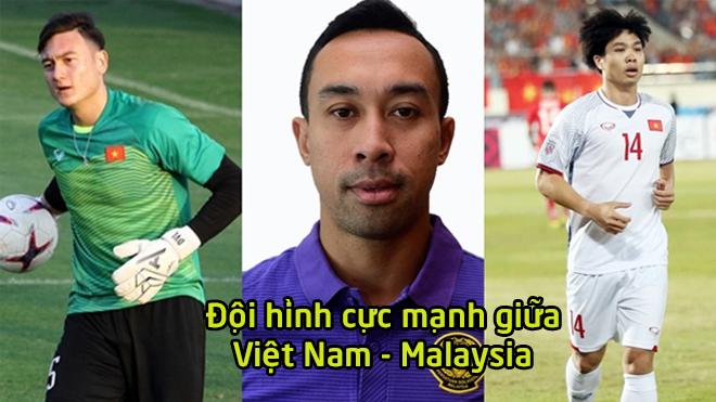 Đội hình kết hợp siêu khủng giữa ĐT Việt Nam – ĐT Malaysia