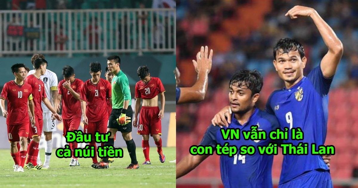 Tụt hạng chóng mặt, Việt Nam bất ngờ xếp sau Philippines và dĩ nhiên thua quá xa Thái Lan