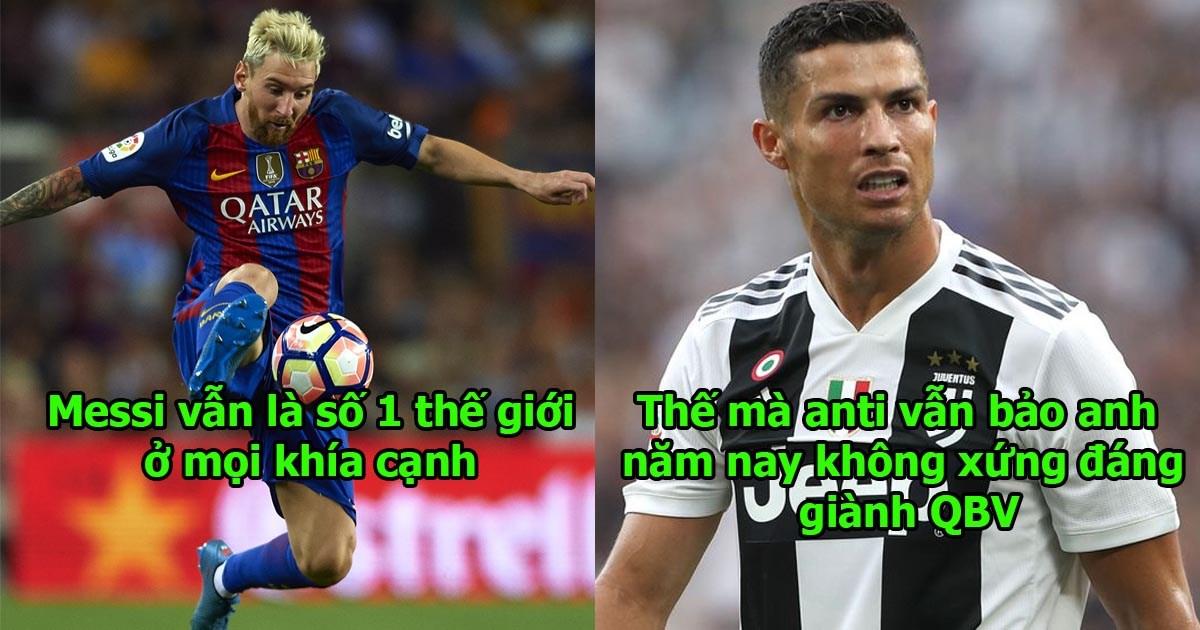 Vượt mặt mọi đối thủ, Messi chính thức giành 2 giải thưởng danh giá, đúng là thiên tài số một của thế giới