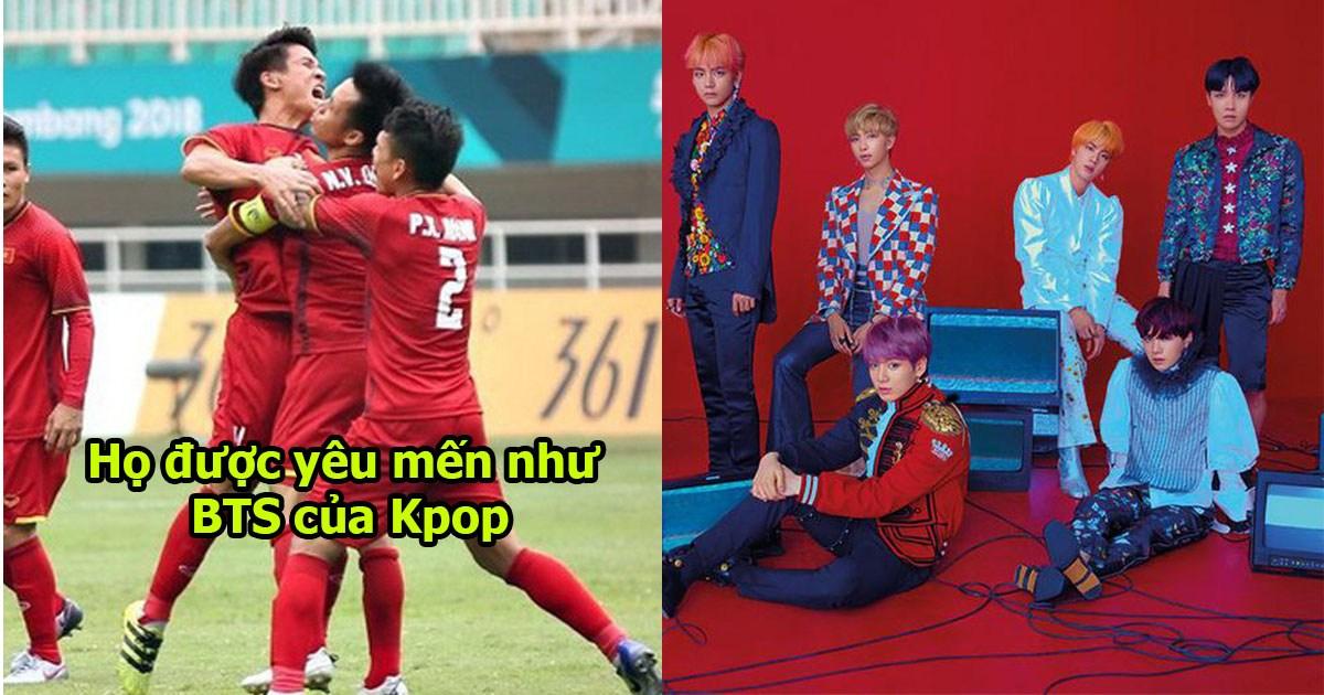 Báo Hàn Quốc: ĐTVN được hâm mộ không khác gì như các chàng trai BTS của Kpop