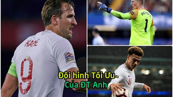 """Đội hình tối ưu giúp tuyển Anh """"làm gỏi"""" Croatia ở Nations League 2018: Tam tấu S-K-L lĩnh xướng hàng công"""