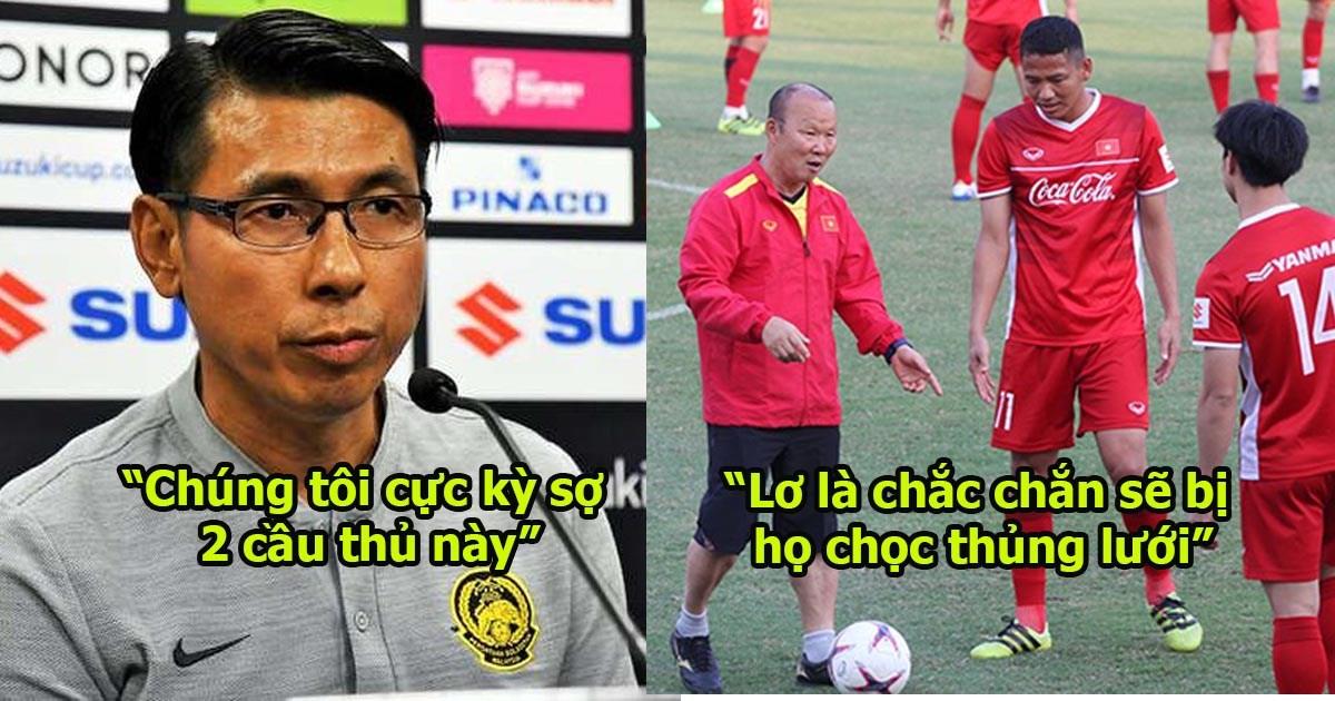Báo Malaysia: ĐTVN rất mạnh và đồng đều mọi tuyến, 2 cầu thủ này của họ quá vượt trội