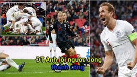 Kết quả Anh vs Croatia: Đòn đau choáng váng và màn ngược dòng phi thường