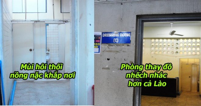Cứ ngỡ Myanmar khá giả, ai ngờ tàn tạ hơn cả Lào: Phòng thay đồ nhếch nhác đến khó tin, hôi như nhà vệ sinh
