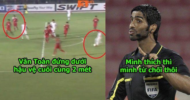 Cận cảnh hàng loạt pha xử ép ĐTVN của trọng tài Qatar, chắc là để trả đũa món nợ U23 đây mà