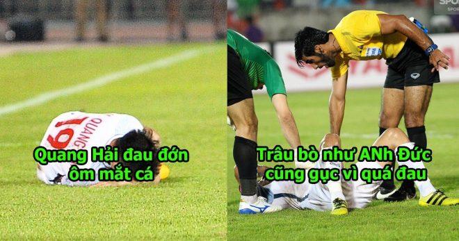 Cận cảnh hàng loạt pha chơi xấu của cầu thủ Myanmar đối với ĐTVN, đáng thương cho lão tướng Anh Đức