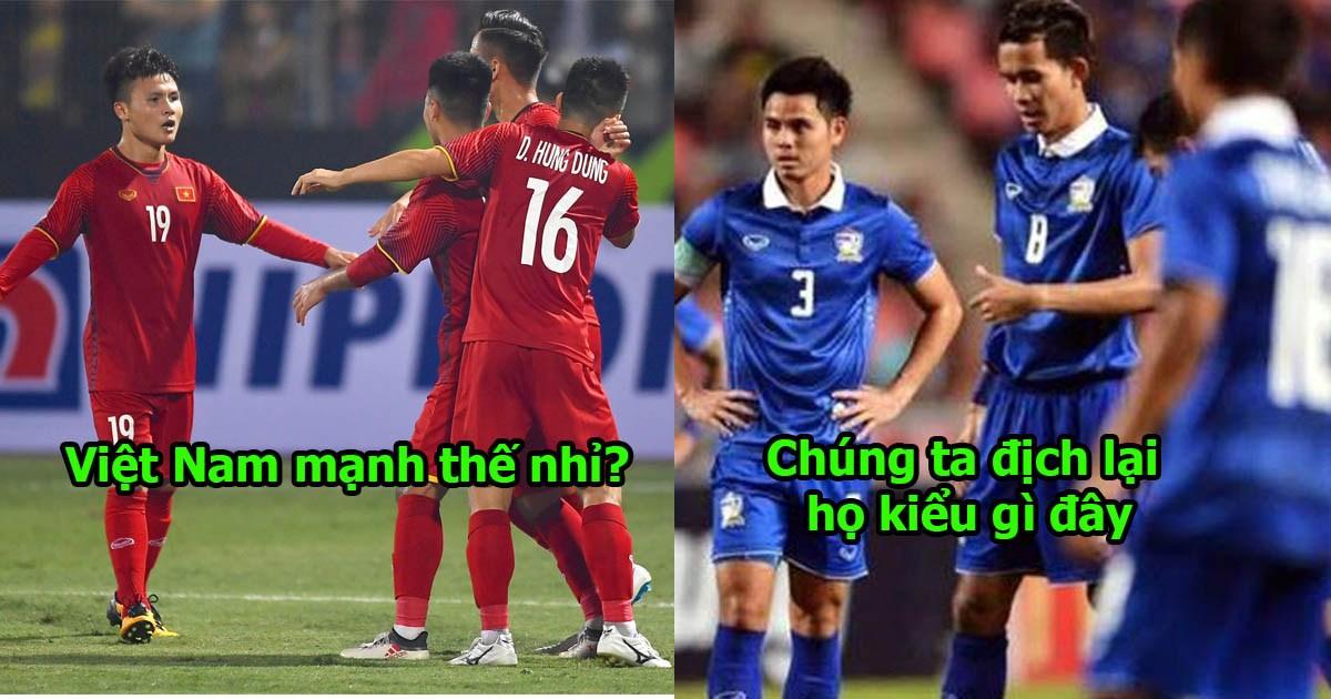 """Báo Thái Lan: """"Làm thế nào mới thắng Việt Nam bây giờ? Họ đã vượt qua Đông Nam Á rồi"""""""