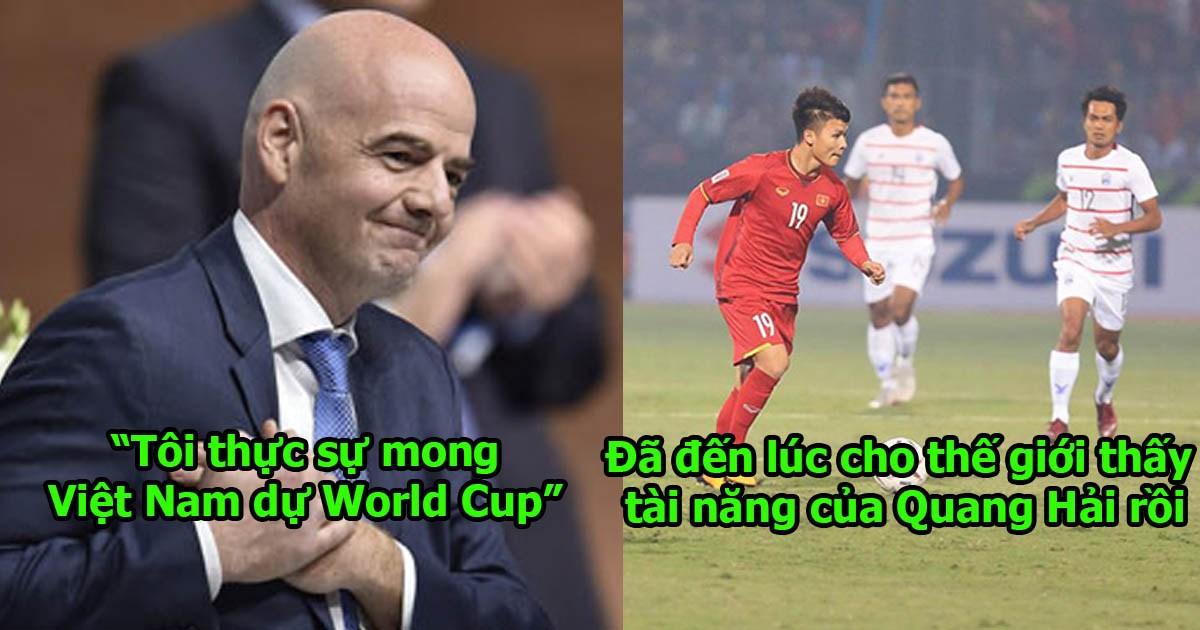 XÁC NHẬN: FIFA sẽ tổ chức World 2 năm một lần, Việt Nam sẽ vươn tầm thế giới, Quang Hải sẽ cho cả thế giới thấy tài năng