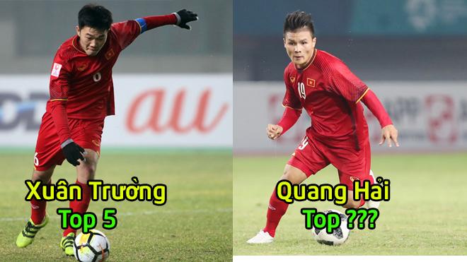 Top 5 chân chuyền Việt Nam ở vòng bảng AFF Cup: Số 1 quá khác biệt so với phần còn lại