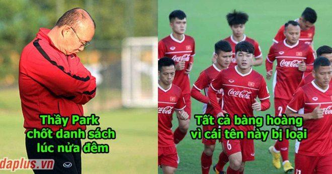 Thầy Park công bố danh sách 23 cầu thủ dự AFF: Cỗ máy chuyền bóng hay nhất ĐTVN bị loại khiến ai cũng khó hiểu