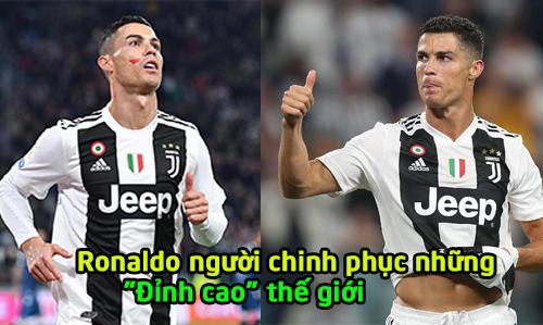 """Mang về chiến thắng cho Juventus, """"siêu nhân"""" Ronaldo tạo ra kỷ lục vĩ đại chưa ai làm được trong lịch sử"""