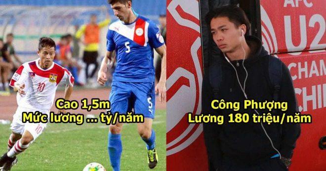 Cứ tưởng cầu thủ Lào nghèo đói, ai dè Messi Lào có thu nhập cao đến mức Công Phượng cũng phát thèm