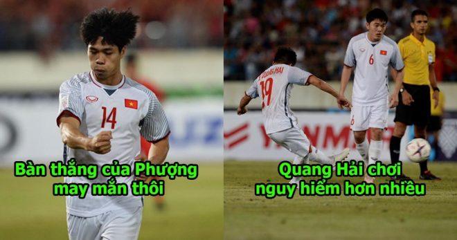 """Cựu thủ môn Dương Hồng Sơn:"""" Tính đột biến của Quang Hải cao hơn rất nhiều so với Công Phượng tại sao bị đá thấp vậy """""""