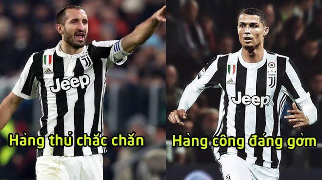 """Đội hình công thủ toàn diện giúp Juventus bắn hạ """"bầy dơi"""" Valencia: Gạt lệ đứng lên, CR7 sẵn sàng nổ sú.ng"""