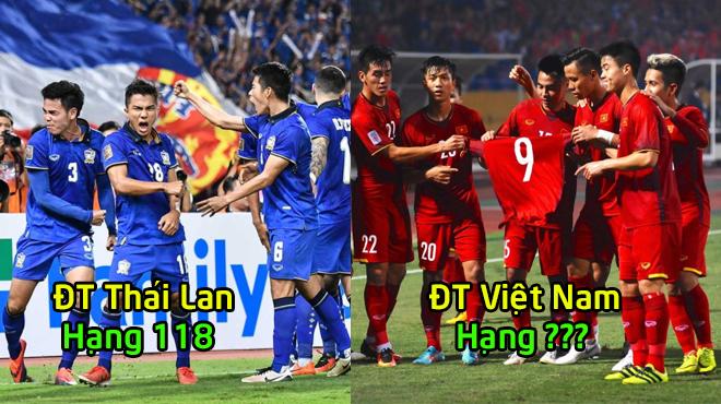 FIFA xếp hạng 10 đội bóng mạnh nhất khu vực ĐNÁ: Cho Thái Lan hít khói, Việt Nam vươn tầm thế giới