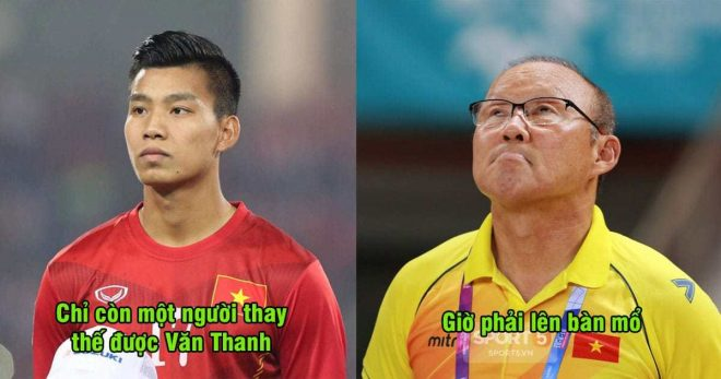 Không thể buồn hơn: Người duy nhất có khả năng thay thế Văn Thanh lên bàn mổ, mất luôn Asian Cup
