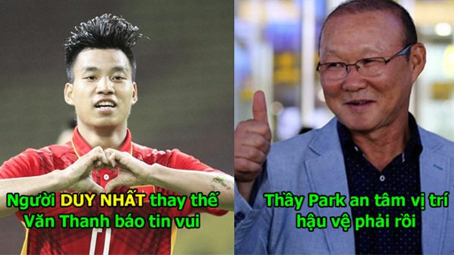 Người duy nhất có khả năng thay thế Văn Thanh ấn định ngày trở lại, thầy Park có thể an tâm rồi!