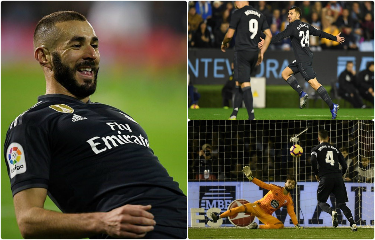 Kết quả Celta Vigo vs Real Madrid: Phản lưới, thẻ đỏ và một siêu phẩm panenka