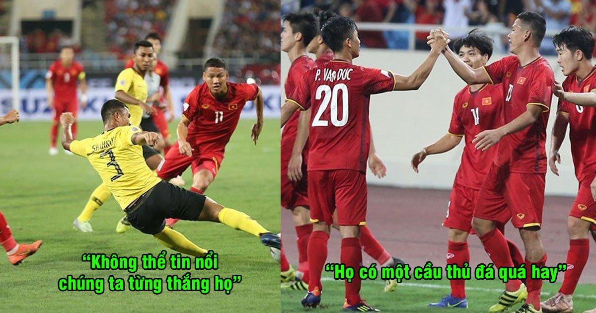 """CĐV Malaysia: """"ĐTVN có một cầu thủ đá rất hay, anh ta đã giúp Việt Nam mở ra con đường chiến thắng trước Malaysia"""""""