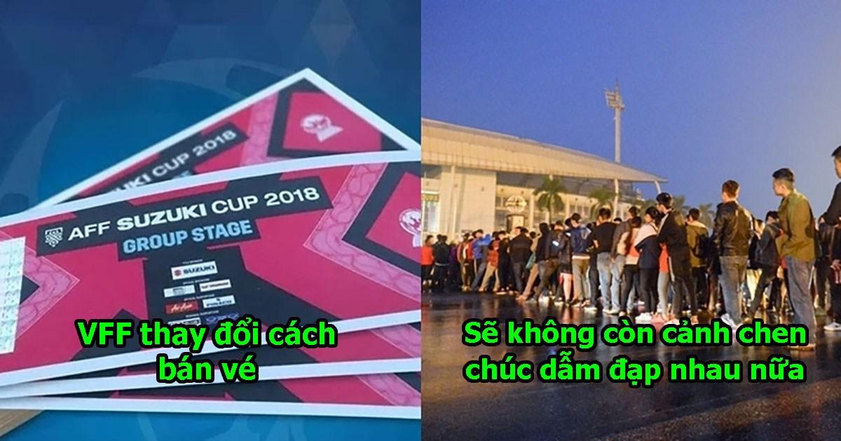 VFF ra quyết định thay đổi cách thức bán vé từ bán kết: Tất cả vì tình yêu bóng đá Việt Nam của NHM!