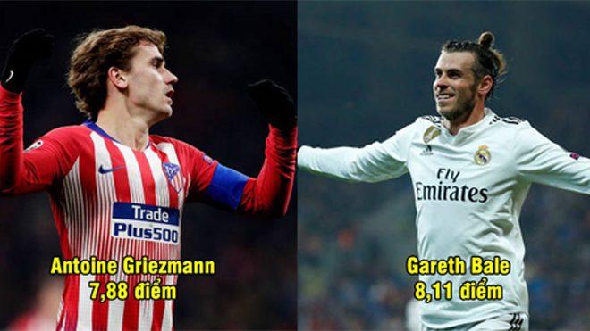 Chấm điểm 10 cầu thủ xuất sắc nhất Champions League mùa này: Cái tên số 1 khiến ai cũng phải nể phục