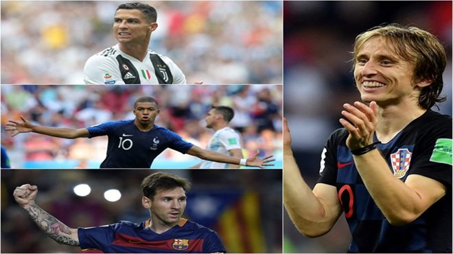 10 ngôi sao xuất sắc nhất thế giới 2018: Đây là năm của Luka Modric!