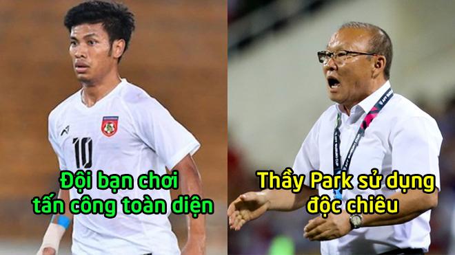 Đội hình Việt Nam và Myanmar tối nay: Thầy Park tin dùng Anh Đức, đội bạn quyết chơi tất tay