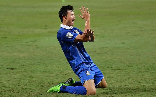Thái Lan vừa đá 1 trận, danh hiệu Vua phá lưới AFF Cup đã có chủ nhân