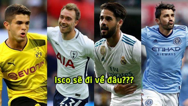 Chuyển nhượng 30/11: MU gây sốc với Pulisic, Juventus và Man City tranh giành Isco