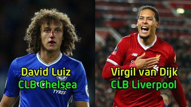 """Top 3 trung vệ chơi chân tốt nhất Premier League hiện nay: Tất cả quỳ gối trước """"hòn đá tảng"""" của Liverpool"""