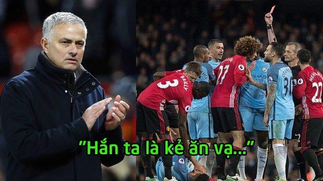 Sau 18 tháng ròng rã, Mourinho vẫn không nguôi mối hận với siêu tiền đạo của Man City
