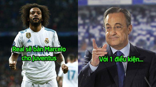 Bất lực trước sự chèo kéo của Juve, chủ tịch Perez XÁC NHẬN sẽ bán Marcelo với điều kiện cực S.Ố.C