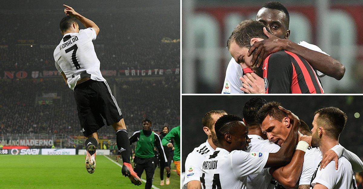 Ronaldo trở lại bản năng s.á.t t.h.ủ, Juve nhấn chìm Milan ngay tại đấu trường San Siro