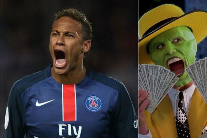 Neymar, hiện thân của bóng đá kim tiền