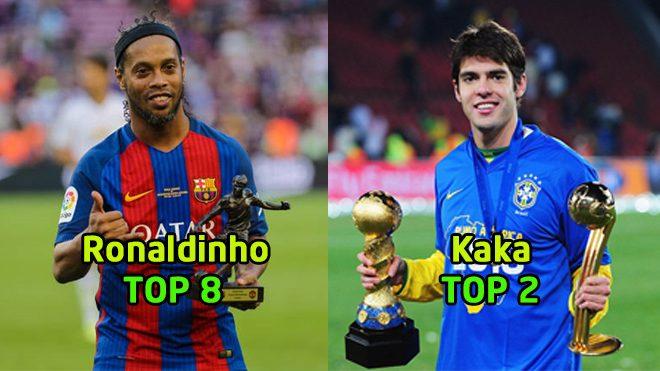 """Top 10 """"Vũ công samba"""" ghi bàn hàng đầu lịch sử Champions League: Thiên thần Kaka vẫn kém thua sao trẻ"""