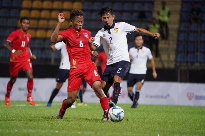'Ronaldo Myanmar' toả sáng giúp đội nhà ngược dòng đầy kịch tính trên sân ĐT Lào