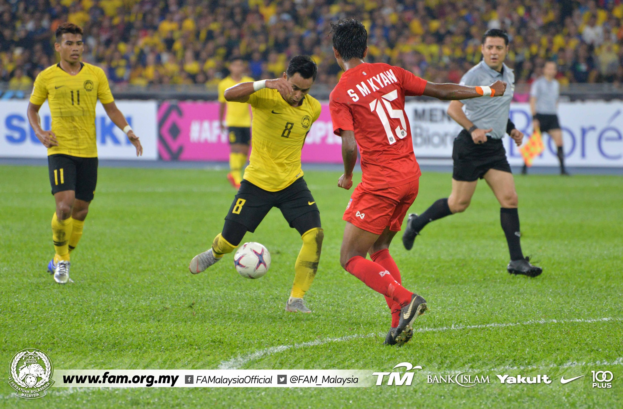Thắng đậm Myanmar, Malaysia theo chân Việt Nam tiến vào bán kết